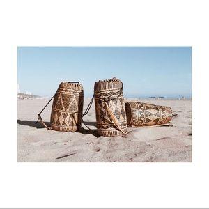 Handbags - Handmade Rattan Backpack